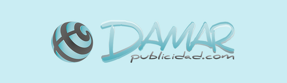 Diseño logotipo DAMAR publicidad