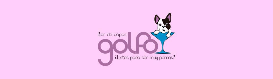 Diseño logotipo Bar de copas Golfo