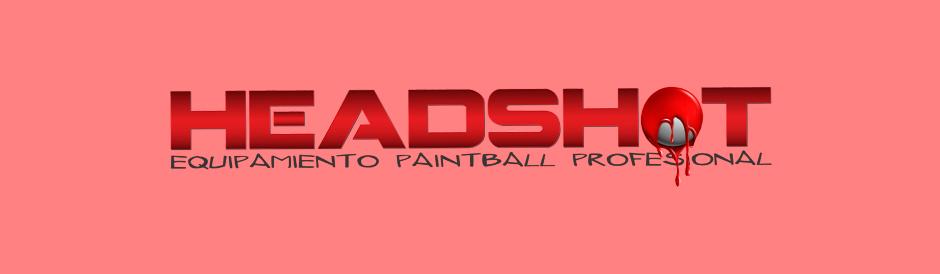 Diseño logotipo Paintball Headshot