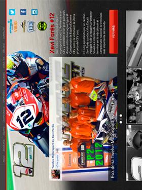 Página web oficial Xavi Forés