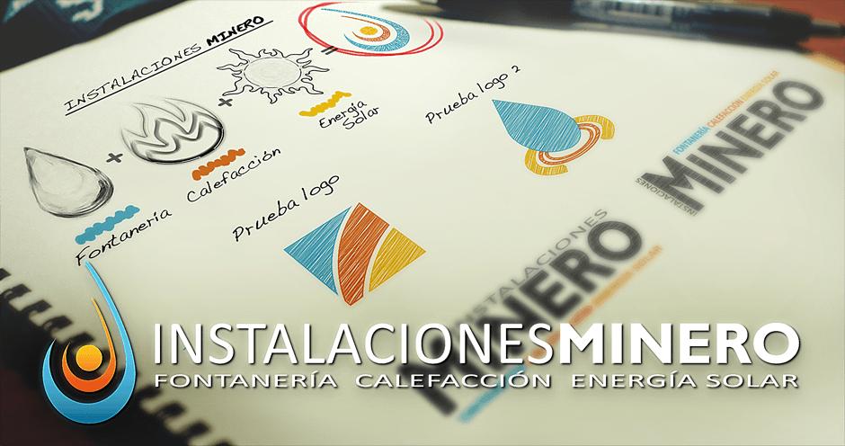 Diseño imagen corporativa Instalaciones Minero