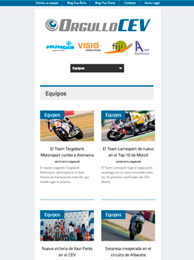 Desarrollo web Orgullo CEV